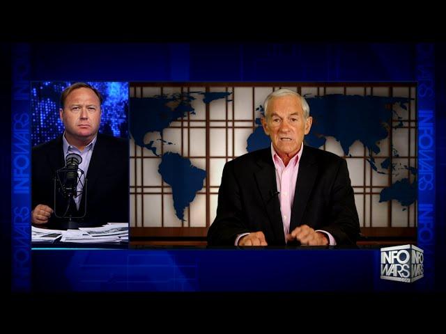 Рон Пол и Алекс Джонс об экономическом крахе США