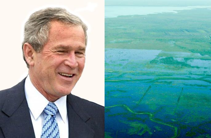 Буш и его бизнес-интересы в крупнейшем водоносном горизонте Южнйо Америки