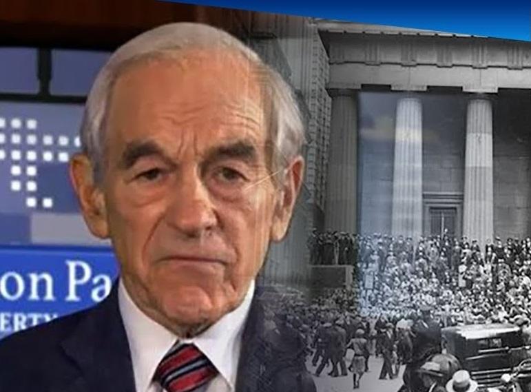 Рон Пол о скором коллапсе американской экономике