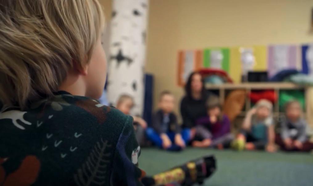 Гендерно-нейтрально воспитание, детсад Эгалия в Швеции